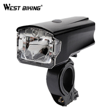 WEST BIKING USB rechargeable Bicycle Light Accessories Front Handlebar Cycling LED Lights Batttery Flashlight Torch Headlight