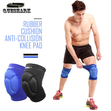 Thicked Football Volleyball Extreme Sports Ski Knee Pads Fitness Knee Support Dancing Kneeling Kneepad Cycling Knee Bracers(China)