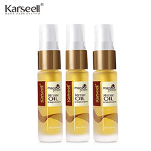 3pcs Morocco Argan Oil keratin Hair Care Hair Straighten Treatment Nutrition Essential Oil Repair Dry Hair Split Ends Oil 15ml*3