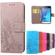 For Case Samsung Galaxy J1 2016 Cover Soft Silicone & Luxury Leather Flip Case For Samsung Galaxy J1 J 1 6 J1 Mini Case Coque