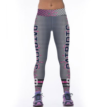 High Quality Women Leggings Sporting Yuga Fitness Clothing 3D Patriots 99 Printed Leggins Women Pants Elastic Mujer Jegging(China)