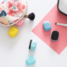 New cute mini sponge shoes brush quick shine cleaning brush for shoes PU bags sofa leather things