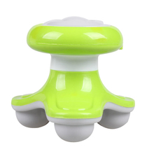 High Quality Mini USB Electric Handled Wave Vibrating Massager Full Body Massage Releases aches Green(China)