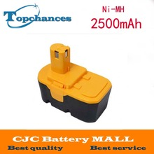 Eleoption Hot 18V 2.5Ah Replacement Power Tool Battery for Ryobi ABP1801 ABP1803 BCP1817/2SM