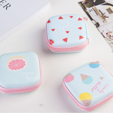 Special Cartoon Candy Color Coin Purse Key Wallet Earphone Organizer Storage Box Money Bag Men And Women Wallet
