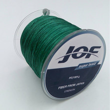 4 Strands 100M Brand 100% PE Material Multifilament PE Braided Fishing Line Super Strong 10/20/30/40/60/80/100LB(China)