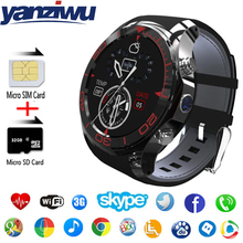 YANZIWU new S11 Smart Watch 1.3inch Round Screen Android 5.1 2.0mp camera  4GB GPS 3G WIFI Bluetooth Smartwatch For IOS Android