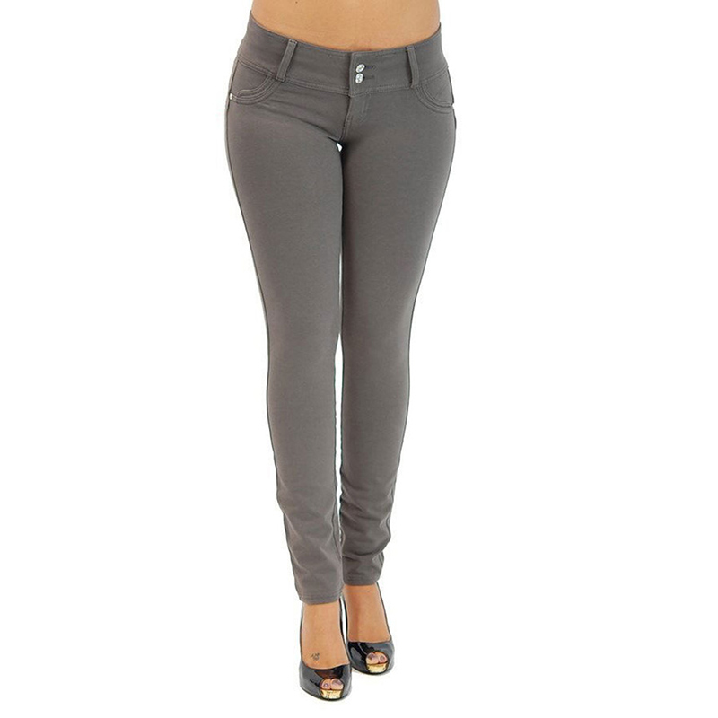 Sexy Push Up Leggings, Women's Denim Leggings, Casual Elastic Jeggings 13