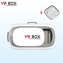 HOT Google cardboard VR BOX II 2.0 Version VR Virtual Reality 3D Glasses For 3.5 - 6.0 inch Smart phone Discount limited to