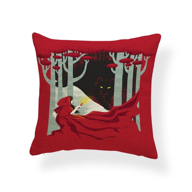 """17x17/"""" Citrouille Imprimé Housse de Coussin Décoration Canapé Throw Square Pillow Cases"""