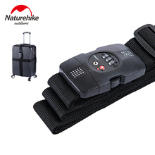 NatureHike Travel Nylon Suitcase Straps Combination Lock For Within 30inch Baggage Luggage Suitcases Strapping Packing Belt