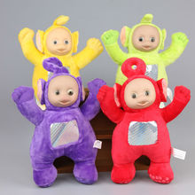 High Quality 4 Pcs/Set 22 cm Teletubby Plush Toys Teletubbies Laa Stuffed Dolls Kids Birthday Gift
