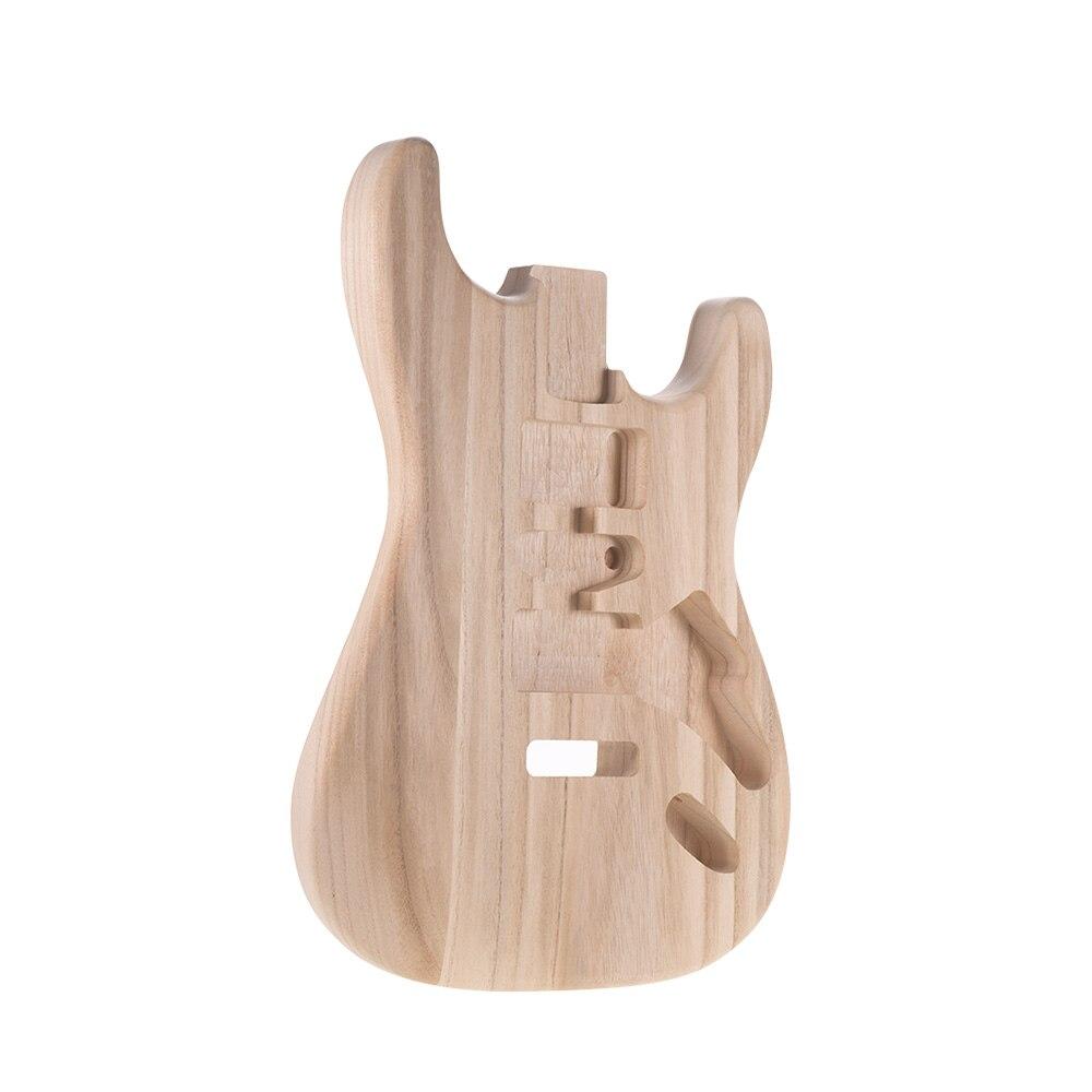 Polierte E Gitarre Ersatz Ahornholz Hals 22 Fret Palisander Griffbrett für