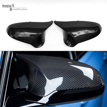 Replacement Carbon Fiber Side Door Mirror Cover For BMW F80 M3 F82 F83 M4 2014 2015 2016 Car Side Mirror Caps
