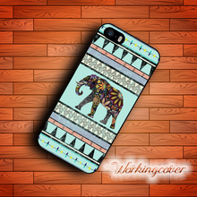 Capa Aztec Elephant Cool Design Drop Shipping Case for iPhone 6 6S 7 5S SE 5 5C 4S 4 Plus Case Cover for iPod Touch 6 5 Case.