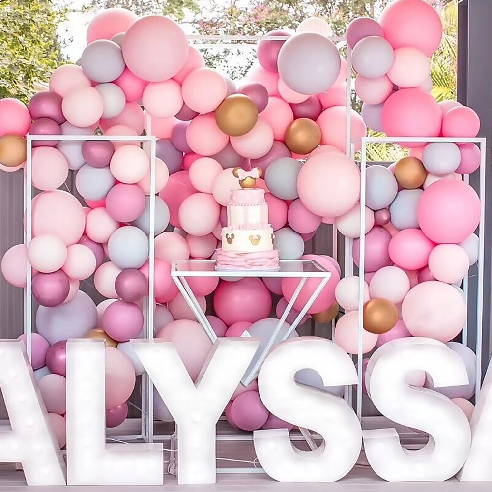 "100pcs 12/"" Candy Macaron Latex Helium Balloons Wedding Birthday Party Christmas"