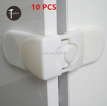 Wholesale 10 PCS Baby Door Drawer Safety ABS Locks Safety Lock for Protecting Baby Cabinet Lock Infant Care