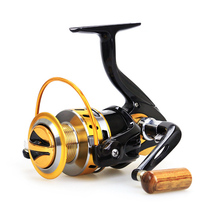 New spinning fishing reels 12BB YB2000-7000 series metal Fishing reel  5.5:1 pre-loading spinning wheel