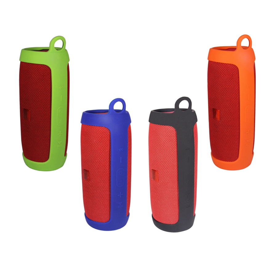XBERSTAR Case for for JBL charge 3 portable Bluetooth speaker Replacement Silicone Sling Cover for Colors Retail Package