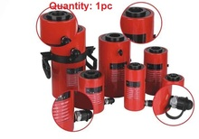 20T,100MM electric hydraulic jack with center hollow, industrial grade lifting jack, heavy duty electric jack(China)