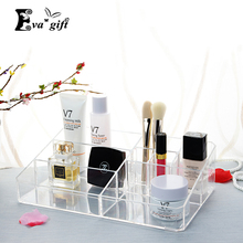 Buy Crystal Acrylic Cosmetic Organizer box Cosmetic storage box woman Makeup Display Box Stand Rack Holder Organizer Toilet case for $18.06 in AliExpress store