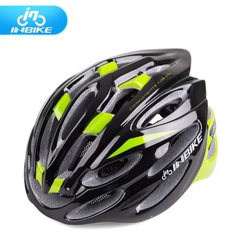 24 Évents! INBIKE Casque de Vélo Vélo Casque De Vélo Capacete VTT Circonférence de La Tête 58-63 cm 6 Couleurs H062
