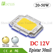 LED Flood Light 20W 30W 50W Super Bright COB Diode SMD DC 12V No Need Driver For Floodlight Spotlight Outdoor Lighting Freeship(China)