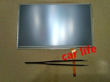 Good 1 piece 7 inch 4 pin Black glass touch Screen panel Digitizer Lens panel for car LQ070Y5DG01 DVD player  gps navigation
