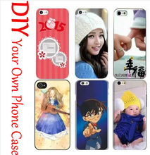 Customized Hard Cell Phone Case DIY For Alcatel One Touch Idol Ultra 6033 Idol X+ 6043 TCl S960 Colored Printing Your Own Case