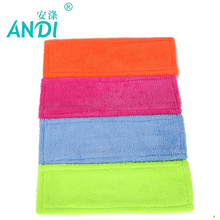 ANDI 4 pc/lot Thicken Microfibre coral velvet wooden floors flat mops replacement pad refill mop head,mops floor cleaning pad