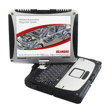 VDM UCANDAS WIFI Full System v3.9Auto Diagnostic scanner with super Military toughbook CF-19 ready to use