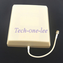 8dBi Indoor Antenna Wall Panel N Female GSM /3G/UMTS 800-2500Mhz Booster Extension Coax Aerial(China)