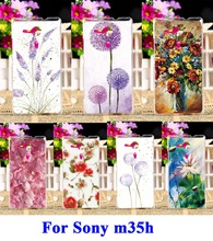 Buy TAOYUNXI Mobile Phone Cases Sony Xperia SP M35 M35h M35C C5303 C5306 C5302 4.6 inch Cover Plastic Painting Flowers Bags Skin for $1.68 in AliExpress store