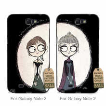 couple Plastic PC Cell Phone Best friends Lesbian girl lovers on the moon 1 For case GALAXY note2 7100
