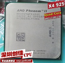 Shipping free AMD Phenom II X4 925 CPU 2.8GHz 6MB L3 Cache Socket AM3 PGA938 Desktop Quad core scattered pieces processor