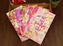 freeshipping 12pcs 9*16.5cm New Year Red Envelope, Cartoon red envelope Lucky Packet(China)
