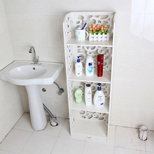 4 Tiers High Quality Waterproof Wood Carving Book Shelf Shoes Rack Shelves Holder Storage Home Organizer 120*23*23cm