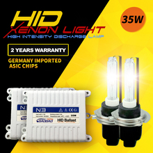 Top quality N3 35W car HID headlight kit super bright Standard full digital ballast car-styling h1 h4 h7 h11 for Toyota Honda