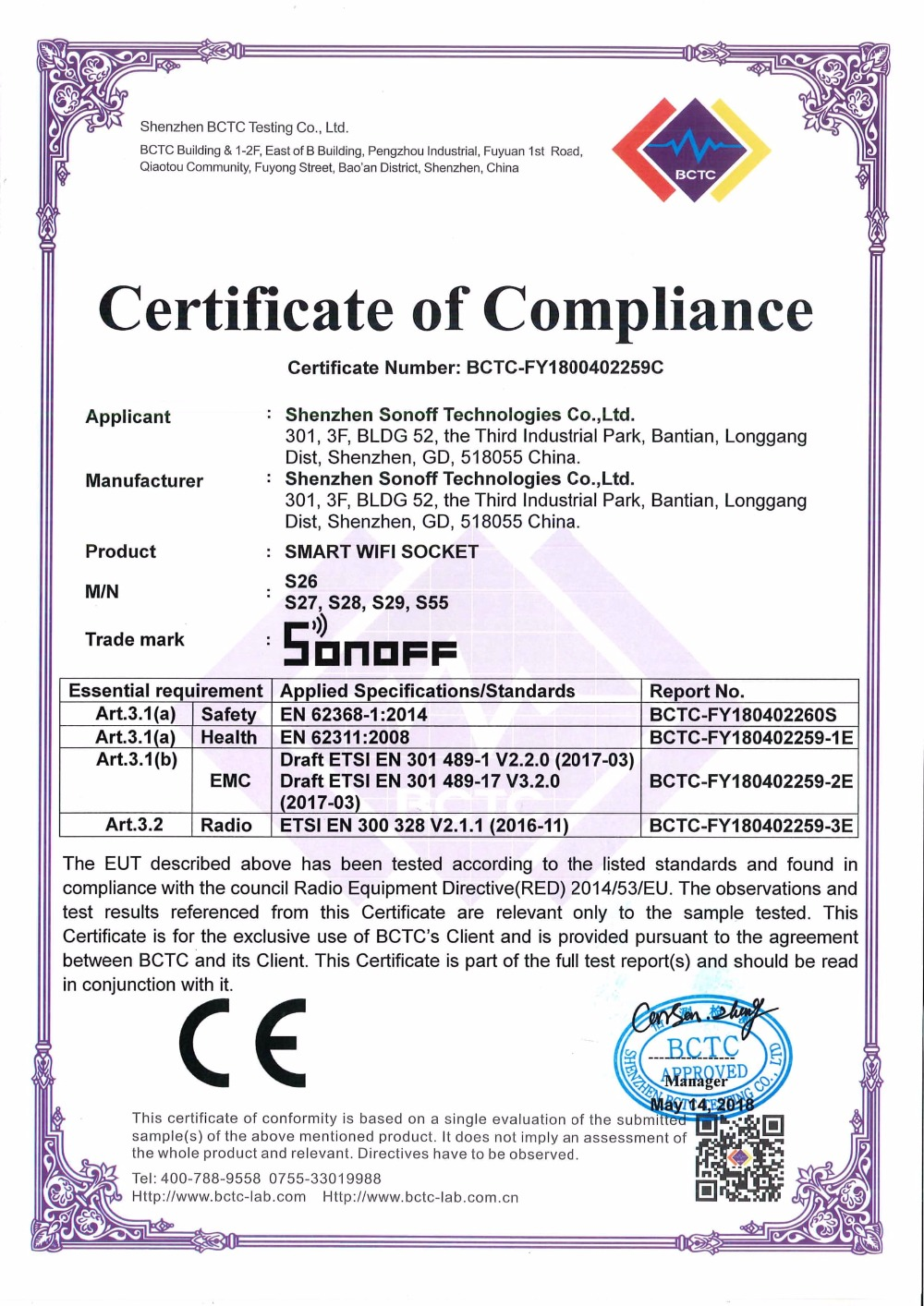 CE-RED-Certificate_Sonoff_S26_S27_S28_S29_S55