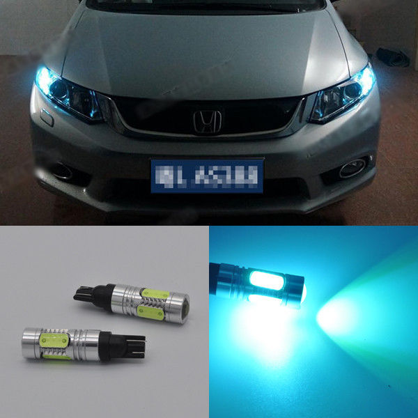 2x projector Ice Blue LED Parking position Light bulb For Honda civic 2003-2014(China)