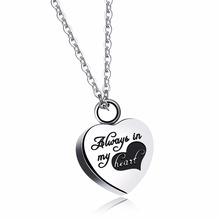 New Designed Heart Necklace & Pendant Romantic Women's Jewelry Valentines Surprise Gift Detachable Hide Secret Chain GX1252(China)