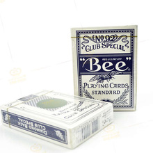 1deck Bee Deck Bicycle made in China  (Not Original) Playing Card red or blue magic Tricks Poker magic Cards 83071