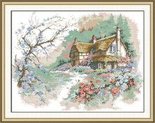The Run of the Country Cross Stitch Kits 11CT Printed 14CT Cross Stitch Set DIY Cross-stitch Counted Embroidery Needlework