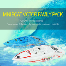2PCS /lot Top Quality RC High Speedboat Large RC Boats 4CH High Powered 2.4V Remote control boat Present you with swimming pool
