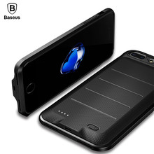 Buy Baseus 2500/3650mAh Battery Charger Case iPhone 7 / 7 Plus External Battery Pack Backup Power Bank Charging Cover Case Coque for $22.69 in AliExpress store
