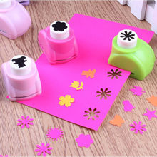1 PCS Kid Hole Punch Mini Printing Paper Hand Shaper Scrapbook Tags Cards Craft DIY Punch Cutter Tools 8 Styles HOT(China)