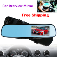 "EZONETRONICS Car HD 4.3"" Car Rearview Mirror DVR Car Camera Recorder DVR Wide Angle Night Vision and  LCD Universal  2010"