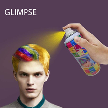 1pcs 120ml Water soluble one-off temporary hair color spray