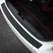 New Rubber Rear Guard Bumper Protector Trim Cover For Ford Focus Ecosport Explorer Fiesta Mondeo Edge Mustang