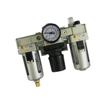G3/8 or G1/2 XAC4000-03/04 FRL(Filter regulator lubricator) air Combination SMC constitution<br>